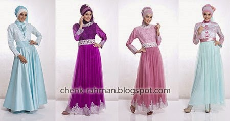Model Baju Gamis Lebaran Tahun