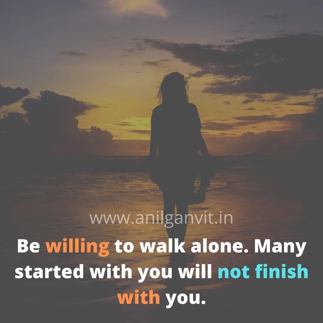 Alone sad status in english
