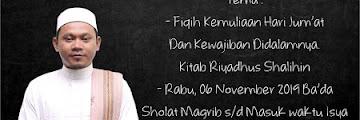 Hadirilah Kajian Islam Fiqih Kitab Riyadhus Shalihin di Masjid Darun Najah Karang Anyar Tarakan 20101106