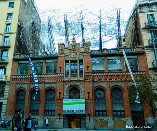 Fundação Antoni Tàpies, Barcelona