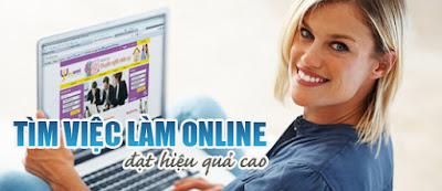 Việc làm online là cách kiếm tiền rất tốt