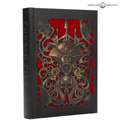 Warhammer Quest: Cursed City novela coleccionista