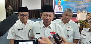 Sekda Provinsi Jambi Secara Resmi Membuka Buka Rakorda Pemberdayaan Koperasi Dan UKM Se-Provinsi Jambi.