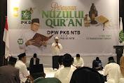 DPW PKB NTB Gelar Perayaan Nuzulul Qur'an