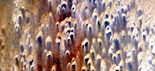Islam,islamic,abstract landscapes of deserts of Africa,Abstract Naturalism,abstract photography deserts of Africa from the air,abstract surrealism,mirage in Sahara desert,fantasy forms in the desert