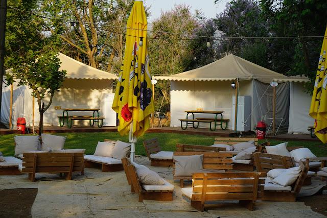 מתחם אוהלי נוחות