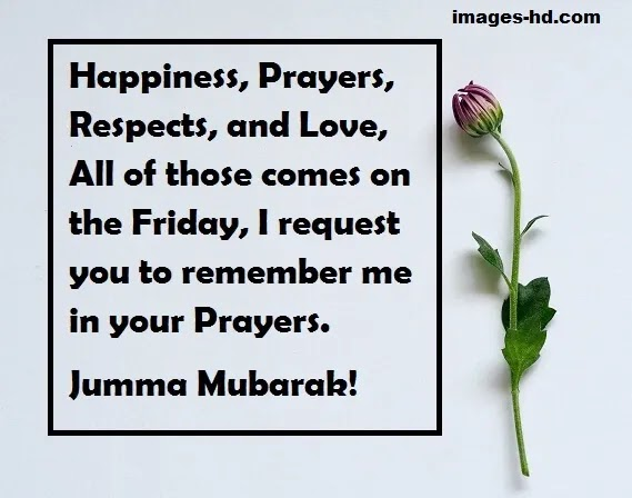 Happiness, respect, love, all comes on Jumma