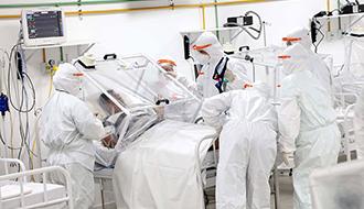 Bolsonaro odeia os profissionais de saúde! Ele não quer que os profissionais incapacitados ou mortos em razão da pandemia não recebam indenização
