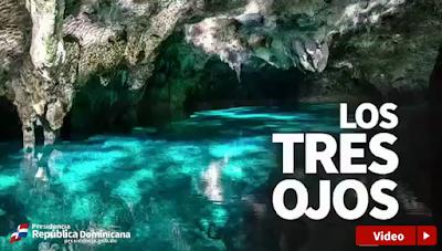 Bellísimo Monumento Natural Los Tres Ojos es un atractivo incomparable del Gran Santo Domingo.