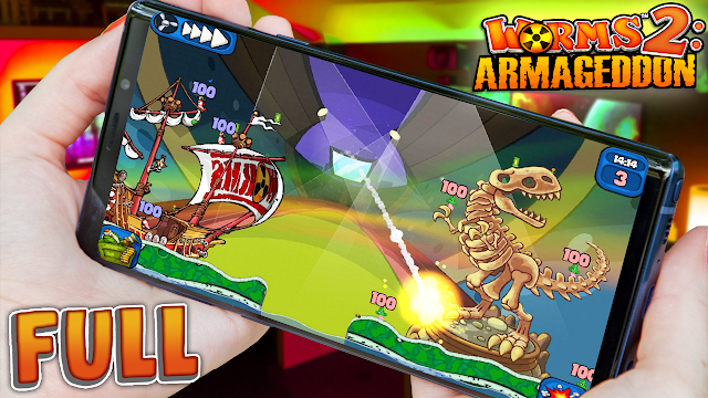 Worms 2: Armageddon (Full) v2.1.724025 Para Teléfonos Android [Apk]