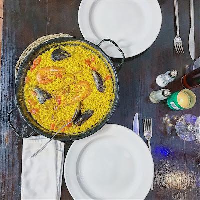 paella piatto tipico spagnolo