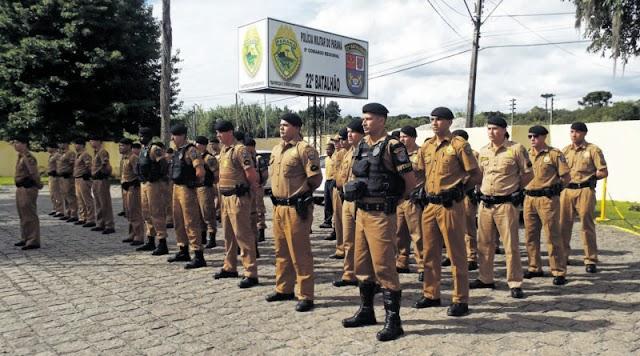 Querem retirar a Policia Militar de Colombo