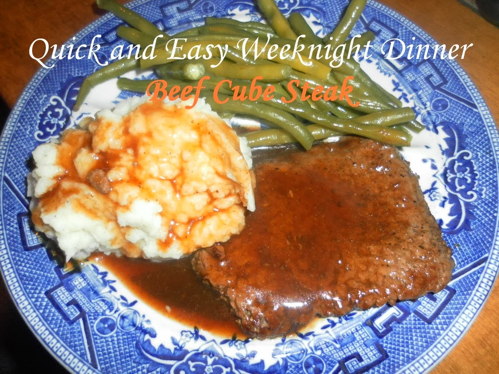 Cooking On A Budget Quick And Easy Beef Cube Steak