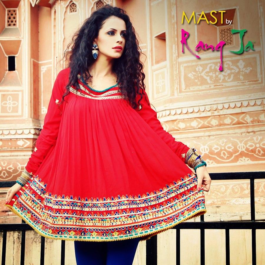 Rang Ja Spring Summer Dresses Collection 2013 For Women