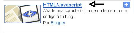 Trucos para Blogger Widget de imágenes y Titulo