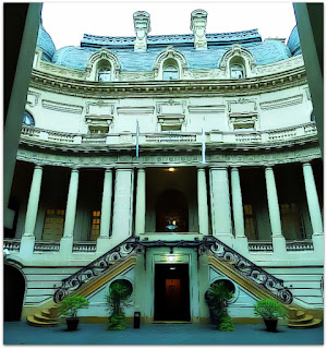 Medianeras - Palácio Anchorena ou San Martin, Buenos Aires