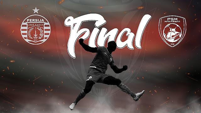 Ini Harga Tiket Online Persija Vs Psm Makassar Final Piala Indonesia