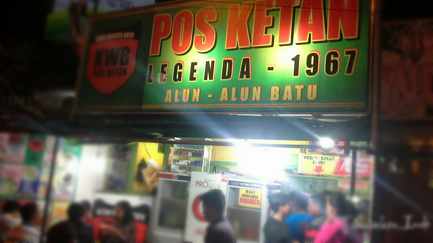 Uniknya Kuliner Pos Ketan Legenda Kota Batu Malang