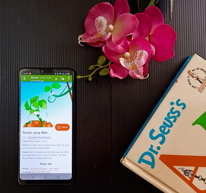 Membaca Nyaring bersama Let's Read sebagai Bekal Anak Bertumbuh