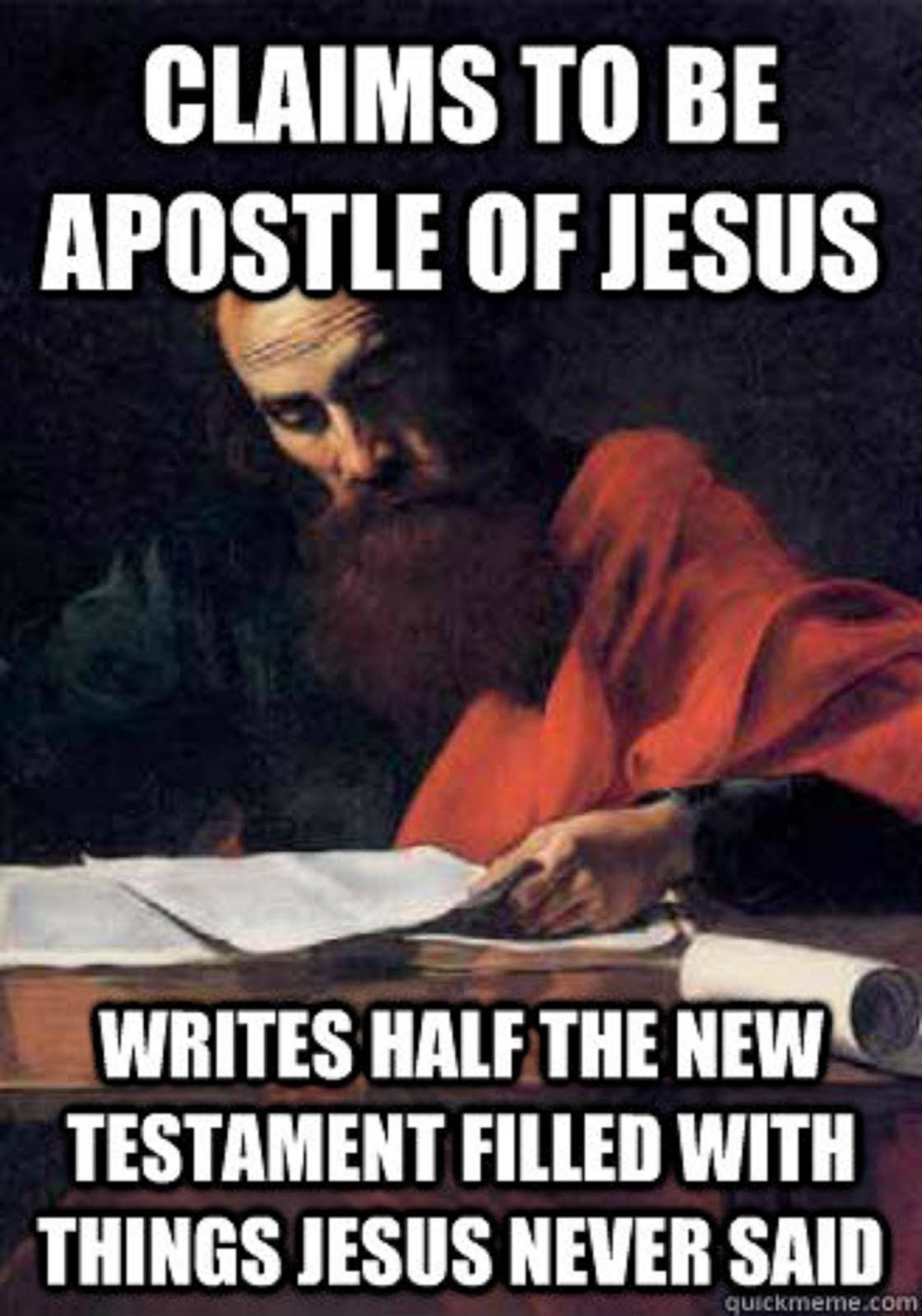 THE FALSE APOSTLE PAUL