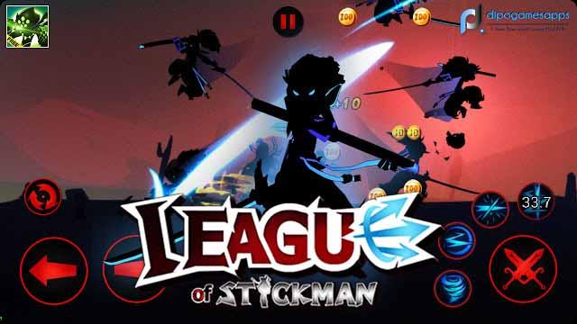 League of Stickman: Warriors MOD APK Images