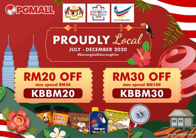 Proudly Local Campaign PGMall