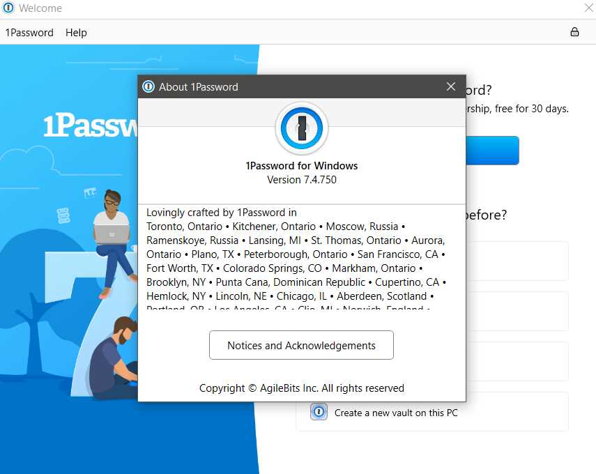 1Password 7.4.750 poster box cover