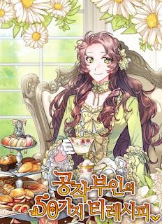 Manhwa The Duchess' 50 Tea Recipes, sinopsis Manhwa The Duchess' 50 Tea Recipes, genre Manhwa The Duchess' 50 Tea Recipes