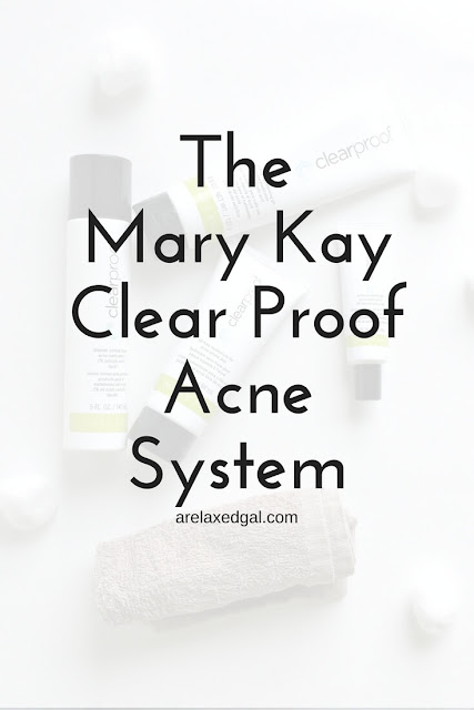Skincare tip: Getting clear skin with the Mary Kay Clear Proof Acne System | arelaxedgal.com