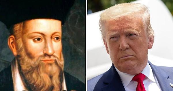 ¿Qué dice la profecía de Nostradamus sobre Donald Trump, el hombre mas importante del mundo? Se espera lo peor