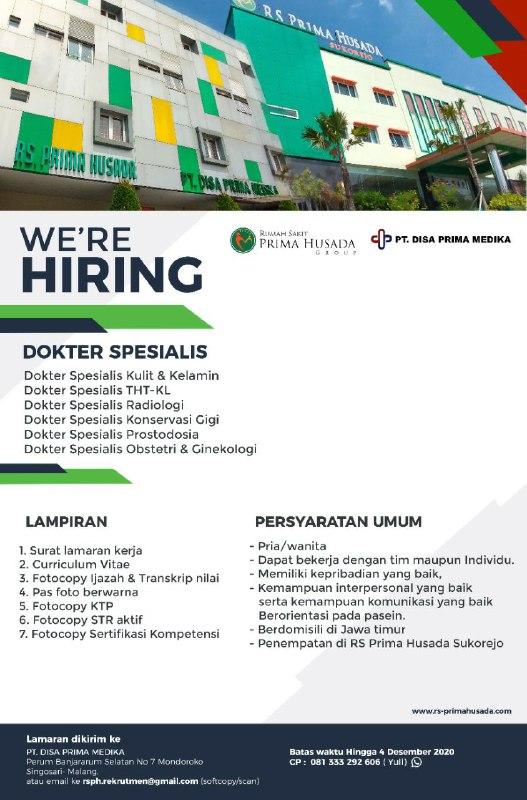 loker dokter spesialis