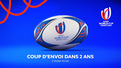 Gilbert la pelota oficial del Mundial de Francia #RWC2023