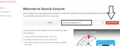Add Website To Google Webmaster Tools
