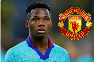 TRANSFER NEWS; Manchester United in desperate bid to sign 17-year-old's Barcelona star
