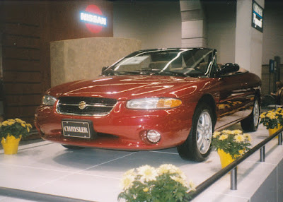 1997 Chrysler Sebring Convertible at the 1997 Portland International Auto Show