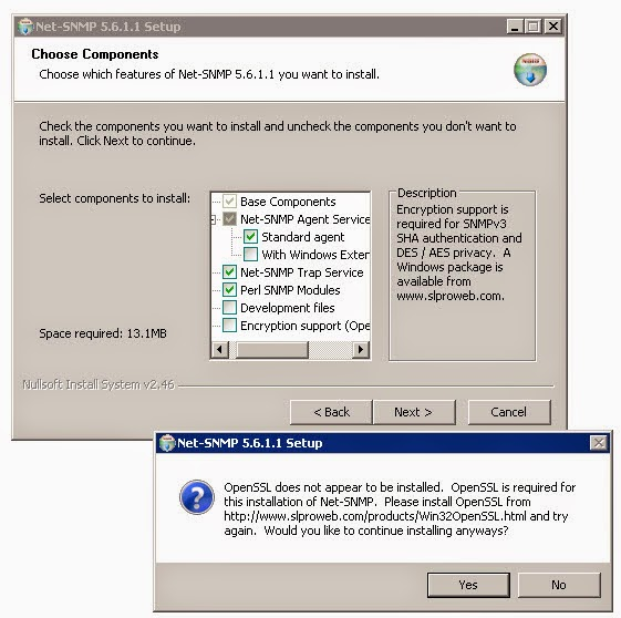 Free SNMP Software Suit in Windows Environment - Net-SNMP