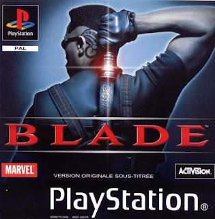 Capa do jogo Blade 2000 PS1, Playstation one Jogo Sem vírus