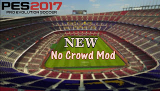 NEW No Crowd Mod PES 2017