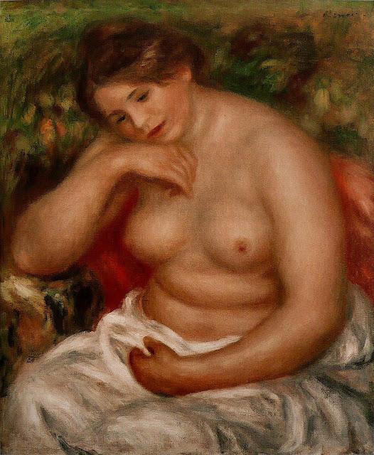 Pierre-Auguste Renoir: Addormentata