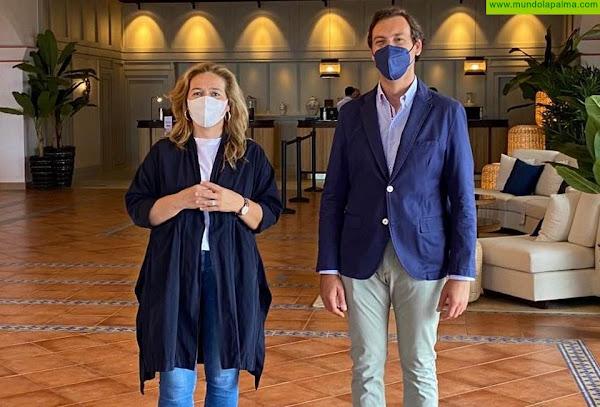 El Ayuntamiento de Fuencaliente agradece a la cadena Princess el esfuerzo para reabrir su hotel en el municipio
