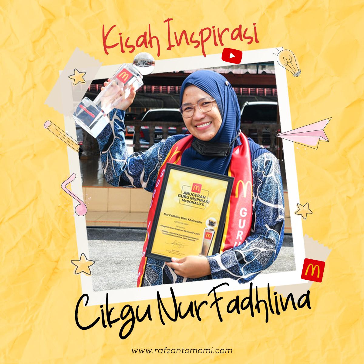 Pemenang Anugerah Guru Inspirasi 2021 - Kisah Inspirasi Cikgu Nur Fadhlina
