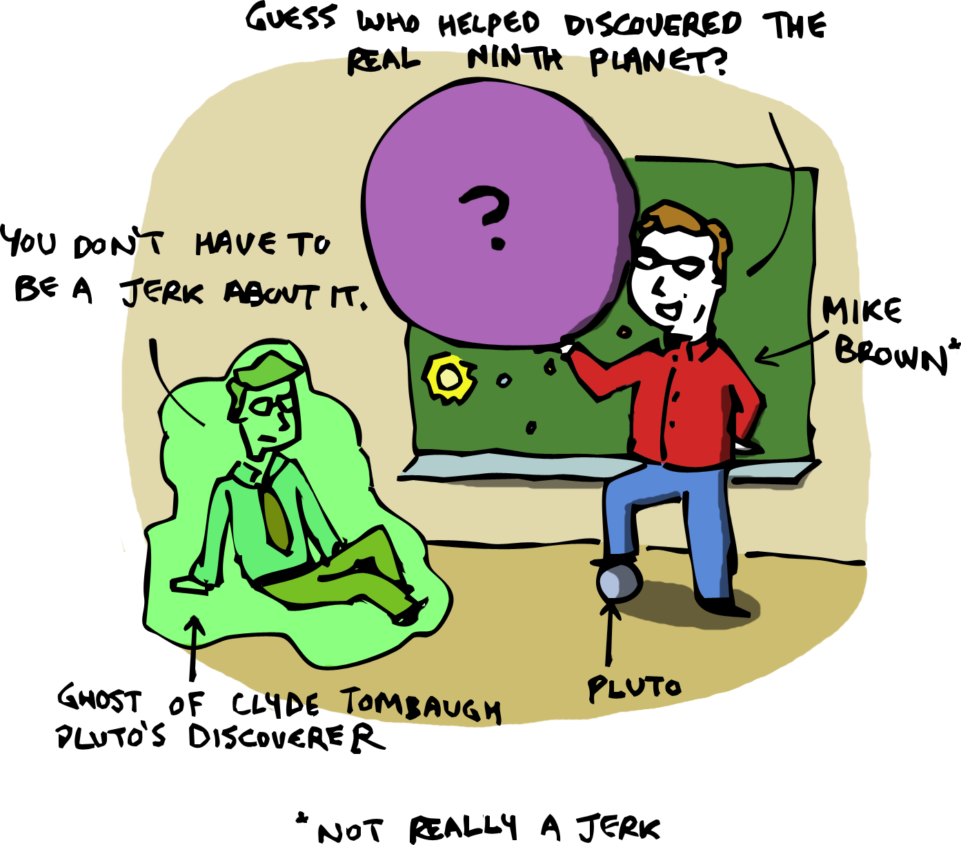 Sketchy Science Pluto 2 0 The New Ninth Planet