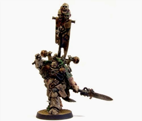 Death Guard conversion de Nurgle del ejercito Chaos Space Marine