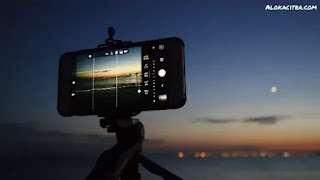 Taking pictures on a Smartphone
