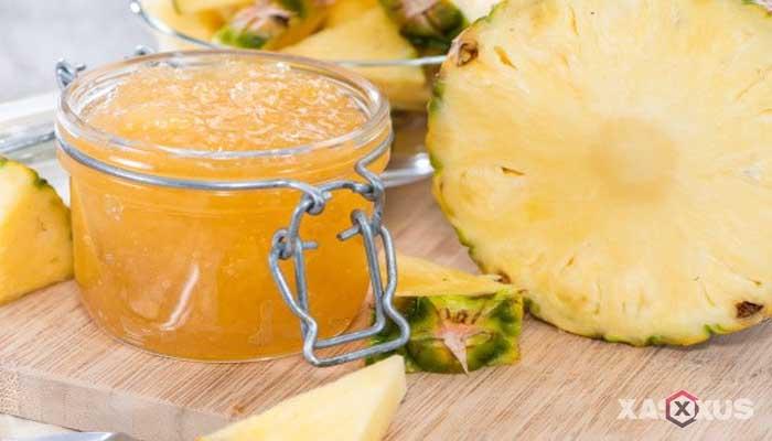Resep cara membuat selai nanas