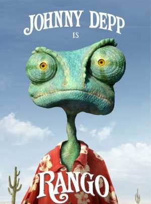 Poster Of Rango In Hindi Dubbed 300MB Compressed Small Size Pc Movie Free Download Only At worldfree4u.com