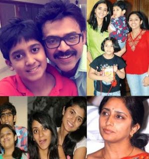 Actor Arjun Daggubati Family Wife Parents children's Marriage Photos