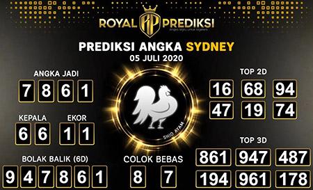 Royal Prediksi Sydney Minggu