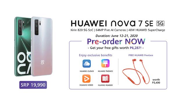 Huawei Nova 7SE 5G Pre-Order