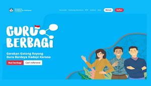 Portal Guru Berbagi dari Kemdikbud dalam Rangka Pembelajaran Jarak Jauh